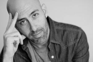 Douglas Ridoff, black and white head shot